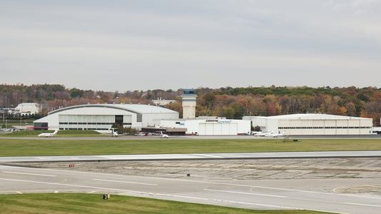 Stewart Airport Hanger